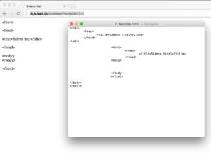 Sådan ser alle .html sider ud