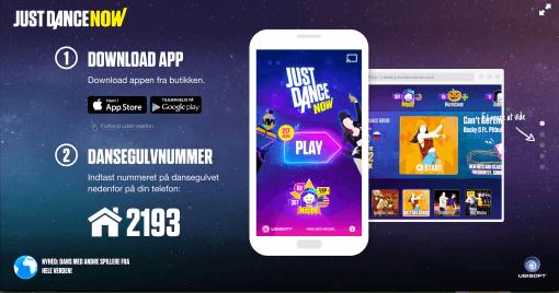 Just Dance app'en - DigiPippi