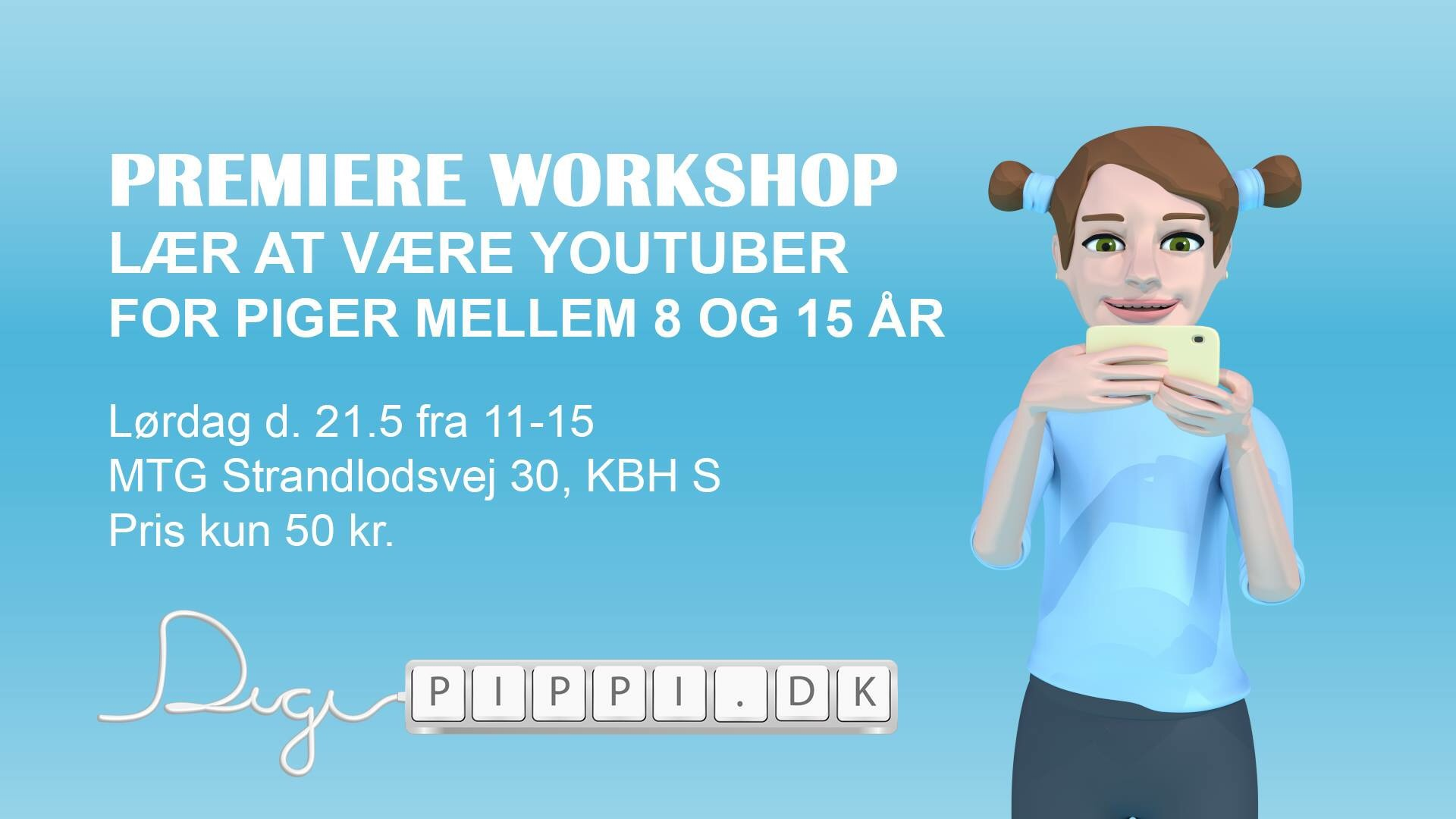 Premiere workshop: Lær at være YouTuber