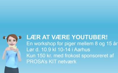 Lær at være YouTuber workshop Aarhus!