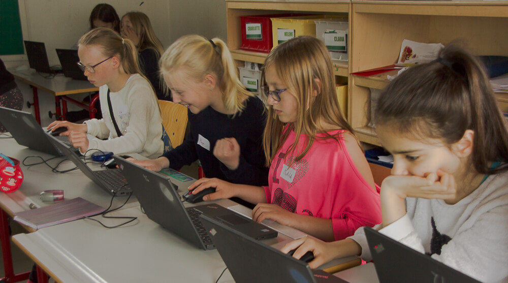 3D design and printing workshop for girls between 10 and 14 year