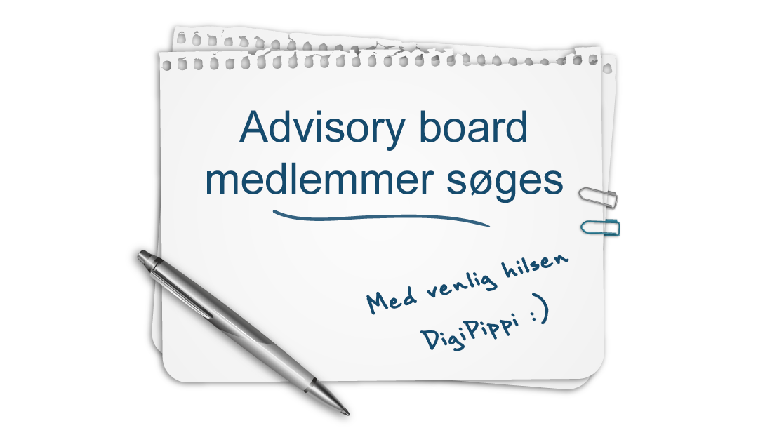 Application process is completed: DigiPippi looking for members of the advisory board – maybe you?