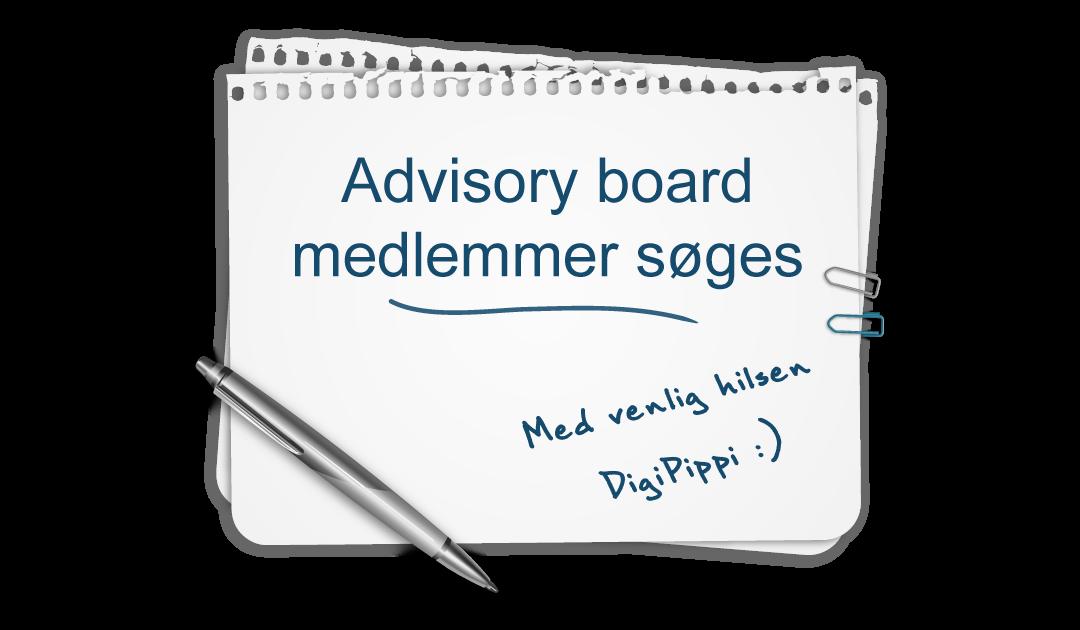Ansøgningsproces er afsluttet: DigiPippi leder efter medlemmer til advisory board – måske dig?