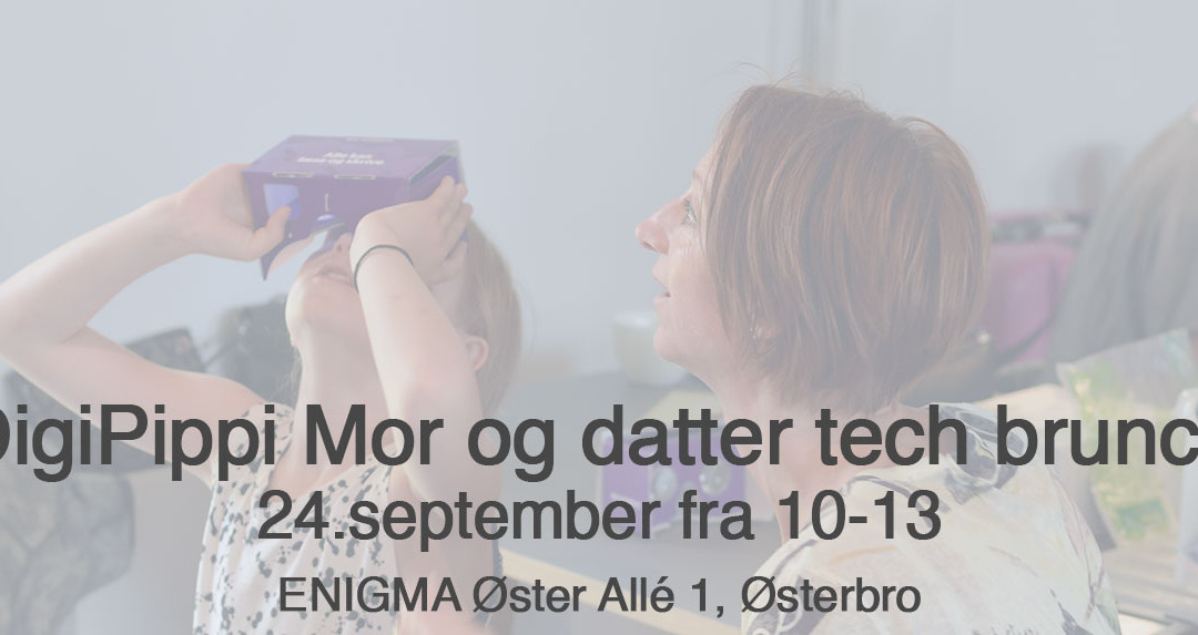 Mor og datter Tech Brunch 24-9-2017