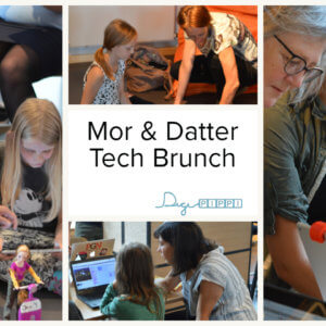 Mother and daughter tech Brunch