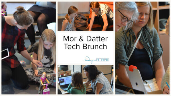 Mor og datter tech brunch