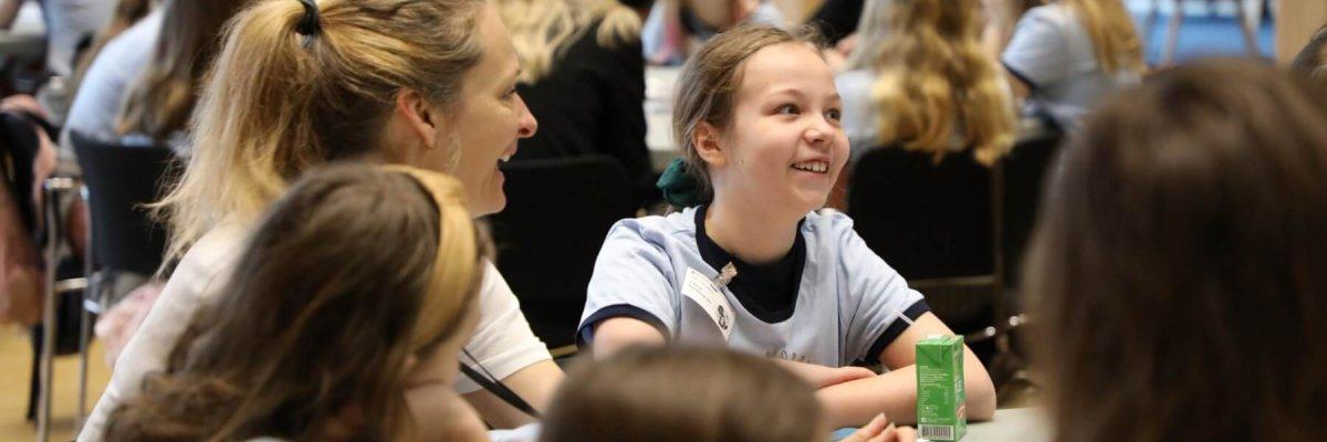 Glade piger og DigiPippi rollemodeller ved DigiPippi Drømmeganger Bootcamp 2020